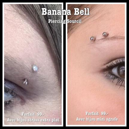 Prix piercing sourcil