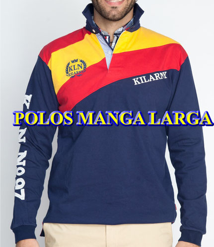 POLO MANGA LARGA