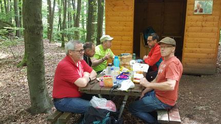 Zweitage-Wanderung unserer Gruppe Menfit