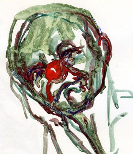 … the listening clown ….