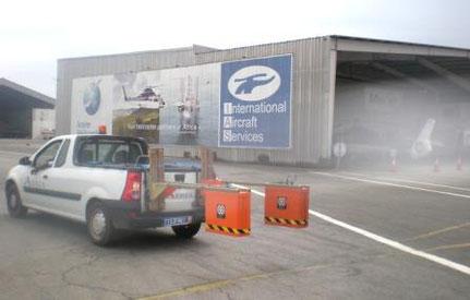 auscultation radar chaussées des aéroports