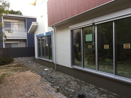 ウッドデッキ 樹脂デッキ タイルデッキ テラス スタンプコンクリート デザインコンクリート 樹ら楽 ココマ ジーマ 暖蘭