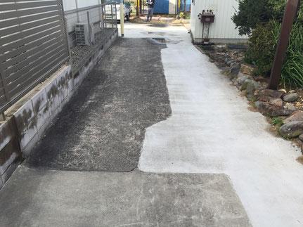 DIY 塗装 補修 ひび割れ スタンプ デザイン コンクリート デメリット メンテナンス 失敗 劣化 剥がれ はがれ