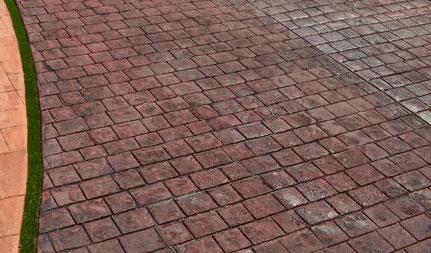 デザインコンクリートスタンプコンクリートファンタジーコンクリートステンシルコンクリートモルタル造形値段価格予算金額施工例改装リフォームデザインガーデン庭エクステリア