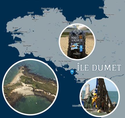 moules de filières île Dumet