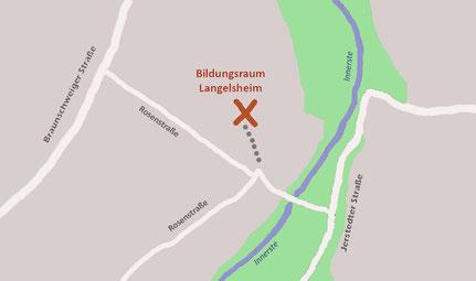 Kartenausschnitt mit Link zu Google Maps