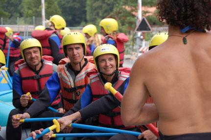 Rafting auf der Lütschine