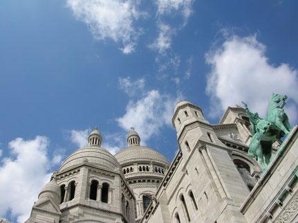 Montmartre et La Basilique du Sacré-Cœur, Paris
