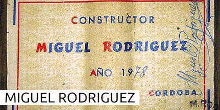 Miguel Rodriguez Guitars Gitarren Museum