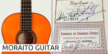 Moraito Re-Edition Guitar Gitarre Sobrinos de Esteso 1972