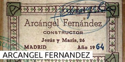 Arcangel Fernandez Guitars Gitarren Museum
