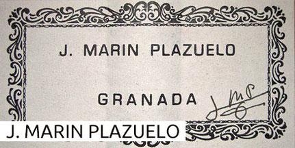 Jose Marin Plazuelo Guitars Museum Archive Gitarre