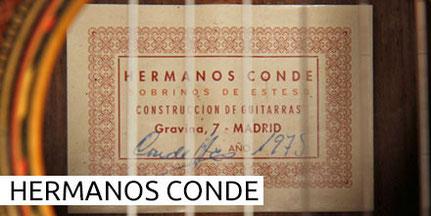 HERMANOS CONDE - SOBRINOS DE ESTESO - GUITAR - GITARRE - GUITARRA