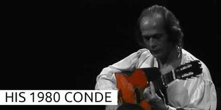 Paco de Lucia  1980 Conde Guitar