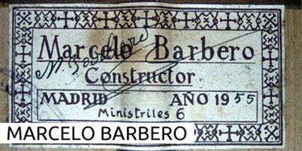 Marcelo Barbero Guitars Gitarren Museum