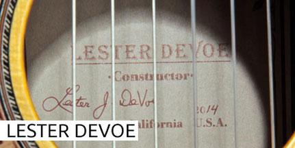 LESTER DEVOE - GUITAR - GITARRE - GUITARRA