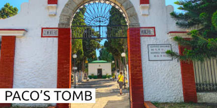 Paco de Lucia Tomb Tumba Grab