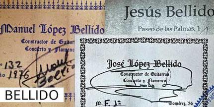 Manuel-Jose-Jesus Bellido Guitar