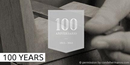 HERMANOS CONDE - SOBRINOS DE DOMINGO ESTESO - 100 YEARS - 100 JAHRE - 100 ANOS