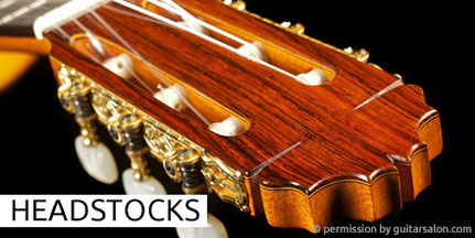 Manuel Reyes - Guitars - Gitarren - Headstocks - Gitarren - Kopf