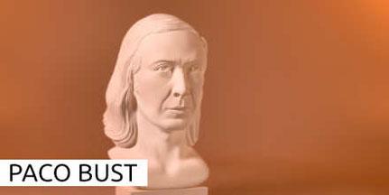 Paco de Lucia Bust Busto Büste