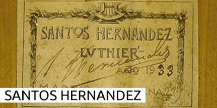 Santos Hernandez Guitars Museum Archive Gitarre