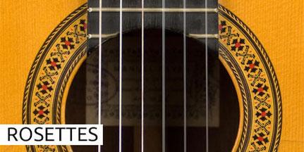 Manuel Reyes - Guitars - Gitarren - Rosettes - Rosetten