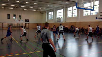 Impression aus dem Spiel gegen Babelsberg