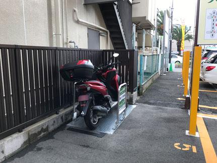 堺市堺区バイク駐車場②