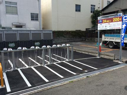 庄内駅前バイク駐車場