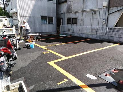 ライン工事及び機器設置工事