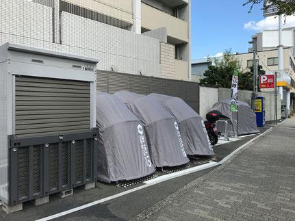 吹田市バイク駐車場