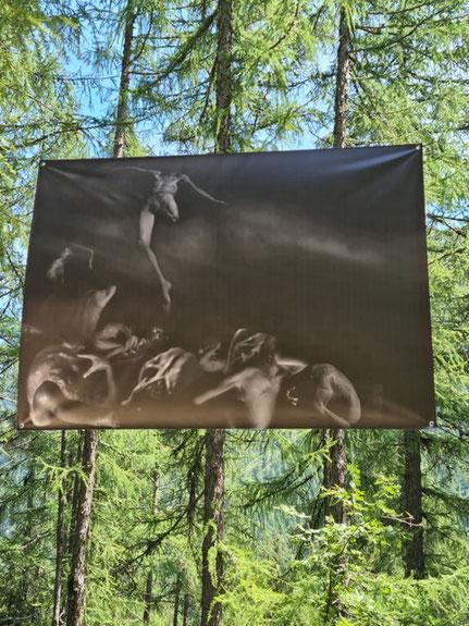 La nuit des ours Vallorcine Mont-Blanc Prouvost Elizabeth Photographe