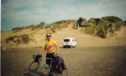 So sah dieselbe Gegend aus, als ich dort 1993 im August mit dem Fahrrad dort. auftauchte.