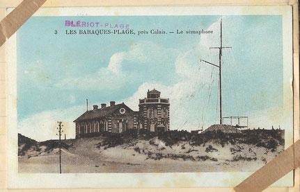 Diese Wetterstation, die auf der Karte noch zu sehen ist, zerstörten die Amerikaner bei ihrer Landung in der Normandie.