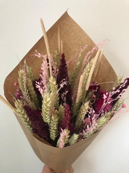 bouquet fleurs séchées - Histoires Botaniques