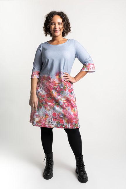 Kleid Enna Große Größen aus Biobaumwolle