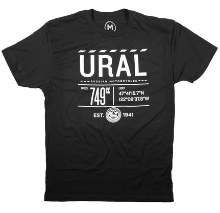Ural Infographic T-Shirt
