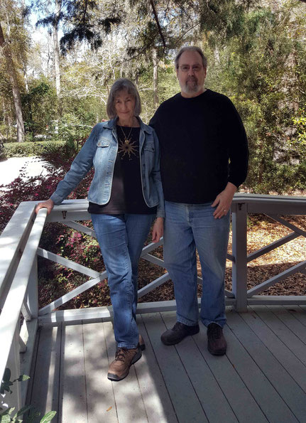 March 2019 ; Irma with her husband Karl Moeller at the Meher Center, Myrtle Beach, SC. Photo taken by Anthony Zois.