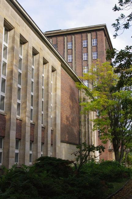 Blick auf BlockC und den Funkhaustower Berlin