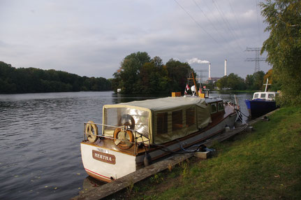 Boot Shuttle des Funkhauses Berlin