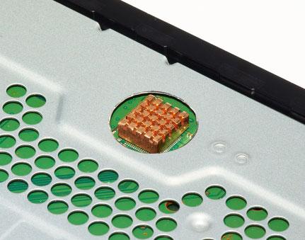Kühlkörper auf dem HDMI Transmitter