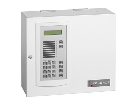 Technische Unterlagen Alarmzentrale Telenot, presented by SafeTech