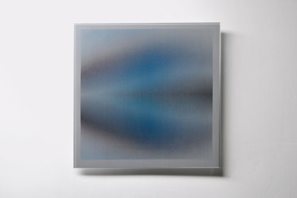 Iris | silk printed, laminated, polished glass | 30 x 30 cm | 2016 | ●