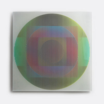 Solaris II. | silk printed, laminated glass | 50 x 50 cm | 2014 | ●