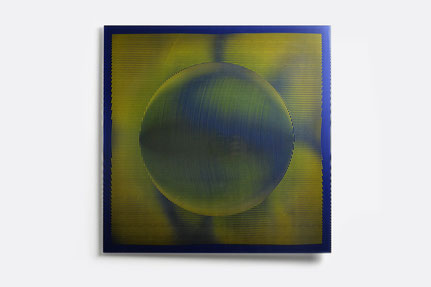 Harey I. | silk printed, laminated glass | 50 x 50 cm | 2014