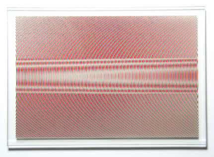 Ostinato I. | printed, laminated glass | 70 x 100 cm | 2012