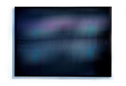 Rising III.  | silk printed, laminated, polished glass  |  90 x 120 cm  |  2013