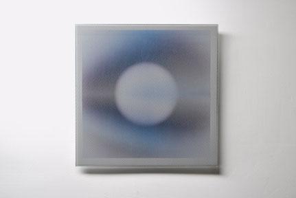 Ocular | silk printed, laminated, polished glass | 30 x 30 cm | 2016  | ●