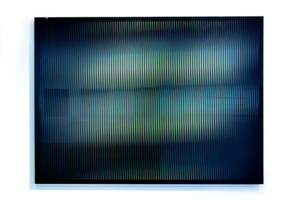 Rising II.  | silk printed, laminated, polished glass  |  90 x 120 cm  |  2013